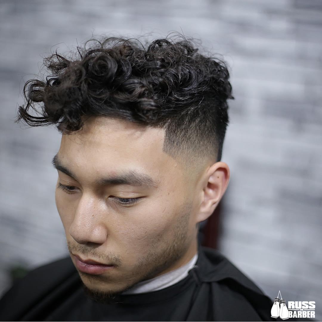 Curly Fringe Hair