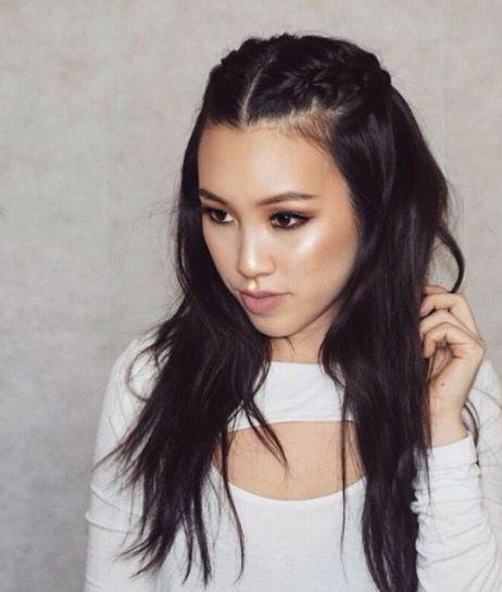 Loose Hair with Micro Braids