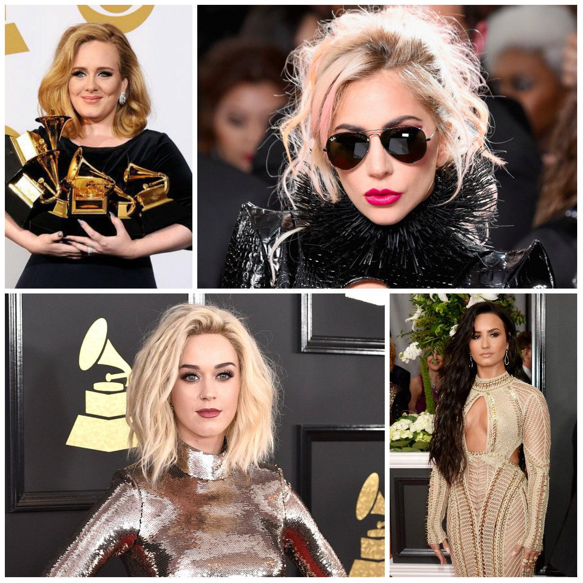 2017 Best Hairstyles from Grammy
