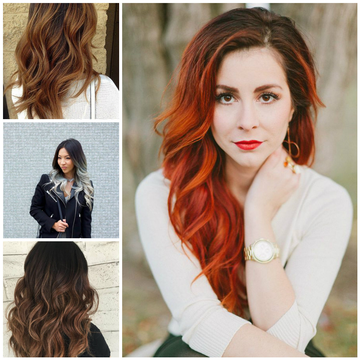 Black Ombre Hair Colors for 2017