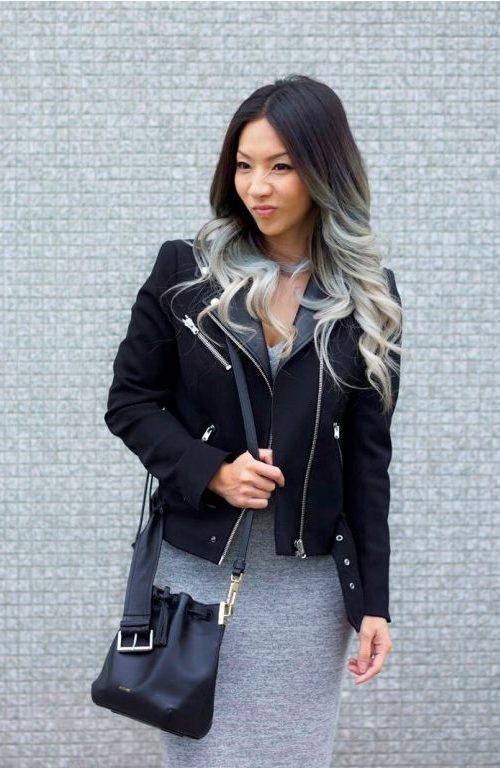 Black to Pastel Grey