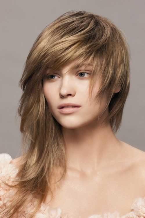 Long Asymmetric Haircut