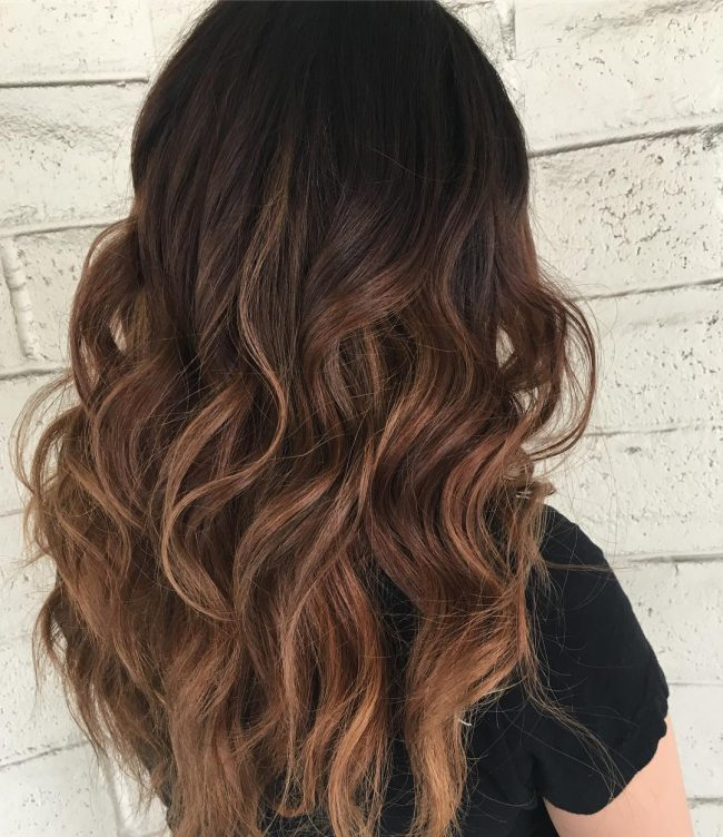 Black Ombre Hair Colors for 2017 | 2019 Haircuts ...