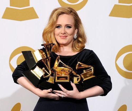 Adele Medium Length Hair