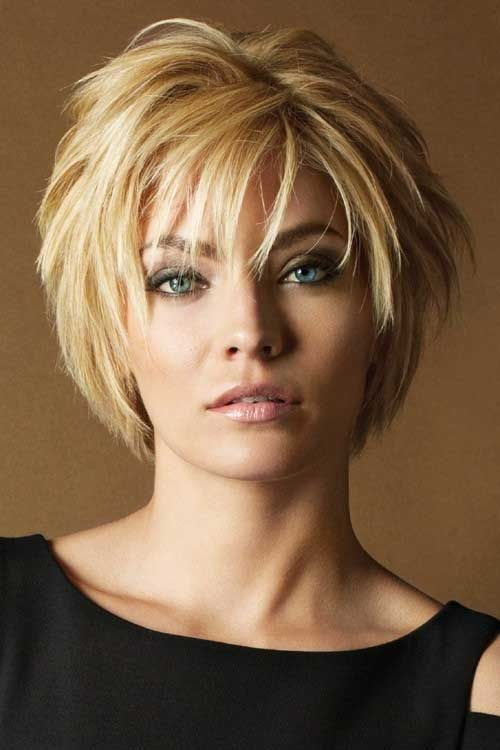 short bob with layers 2017