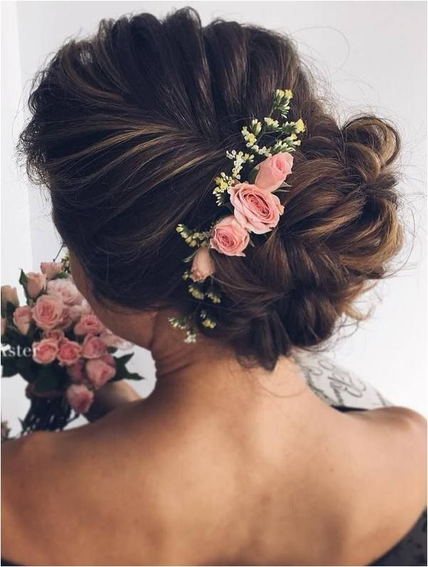 braided updo hairstyle 2017