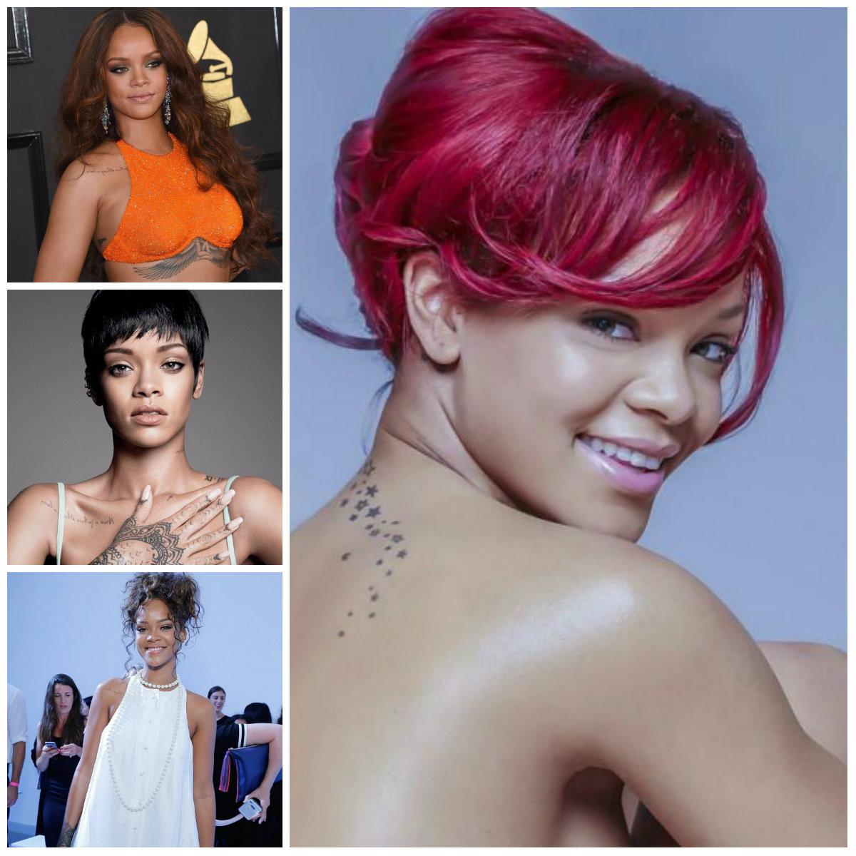 Rihanna Hairstyle ideas for 2017