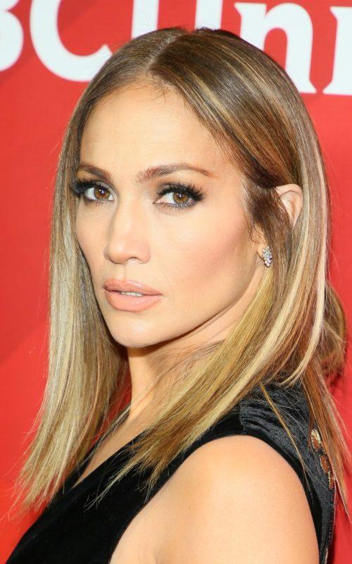 Jennifer Lopez Lob Haircut