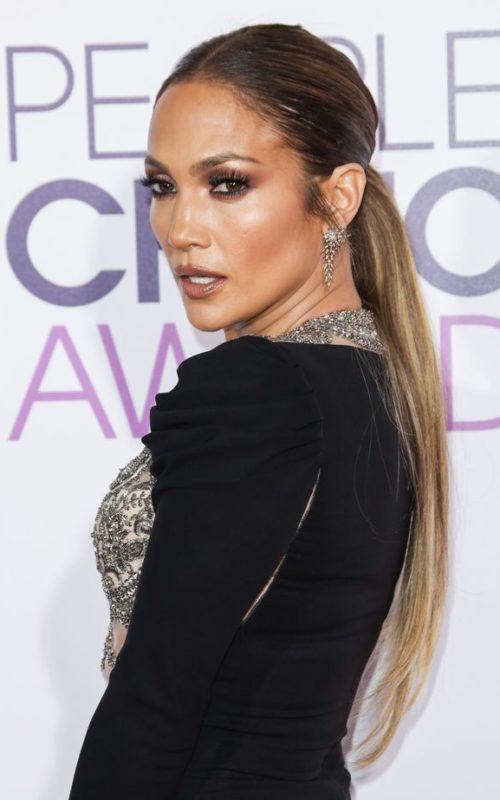 Jennifer Lopez Ultra Long Ponytail