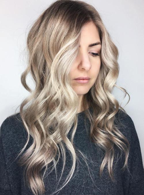 Ash Blonde Waves