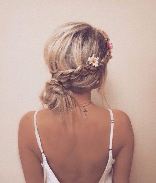 Boho French Braid Hairstyle