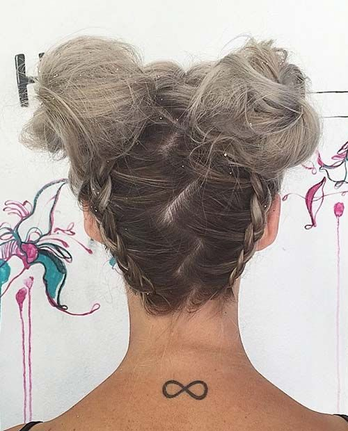Space Buns and French Braids