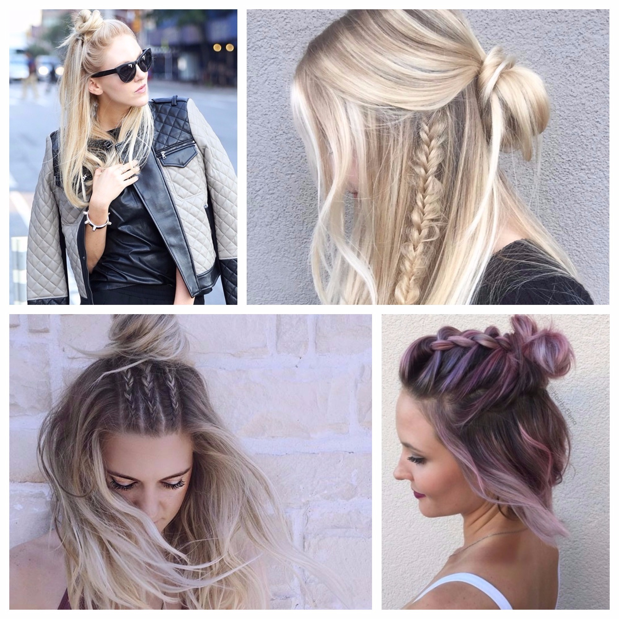 half updo hairstyles