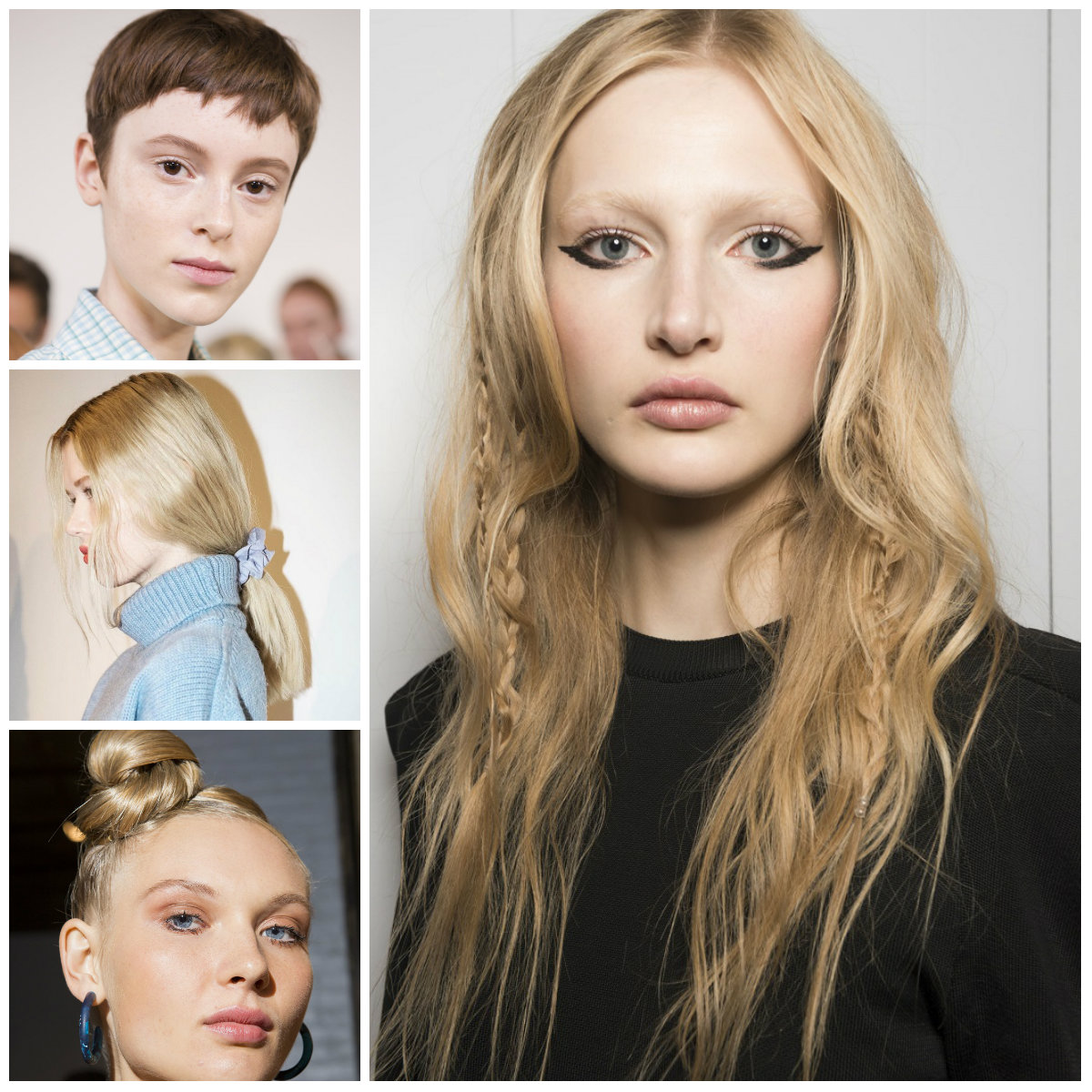 2018 fashion week hairstyles