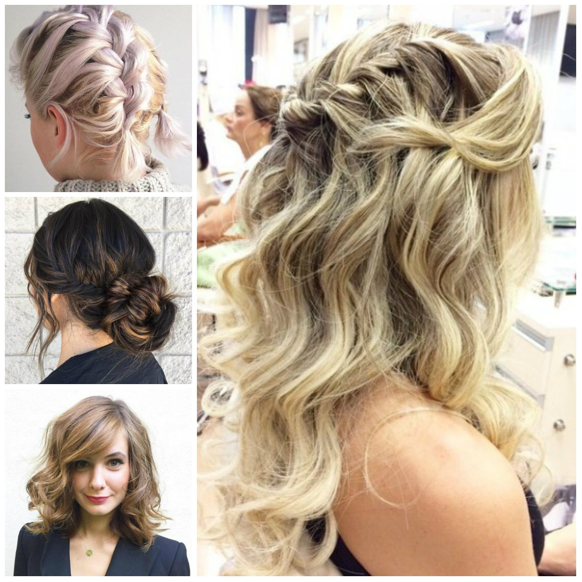 Perfectly Imperfect Hairstyles for All Hair Lengths
