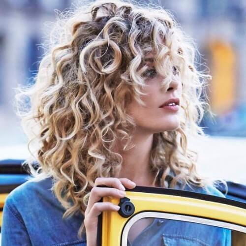 Dirty Blond Curls