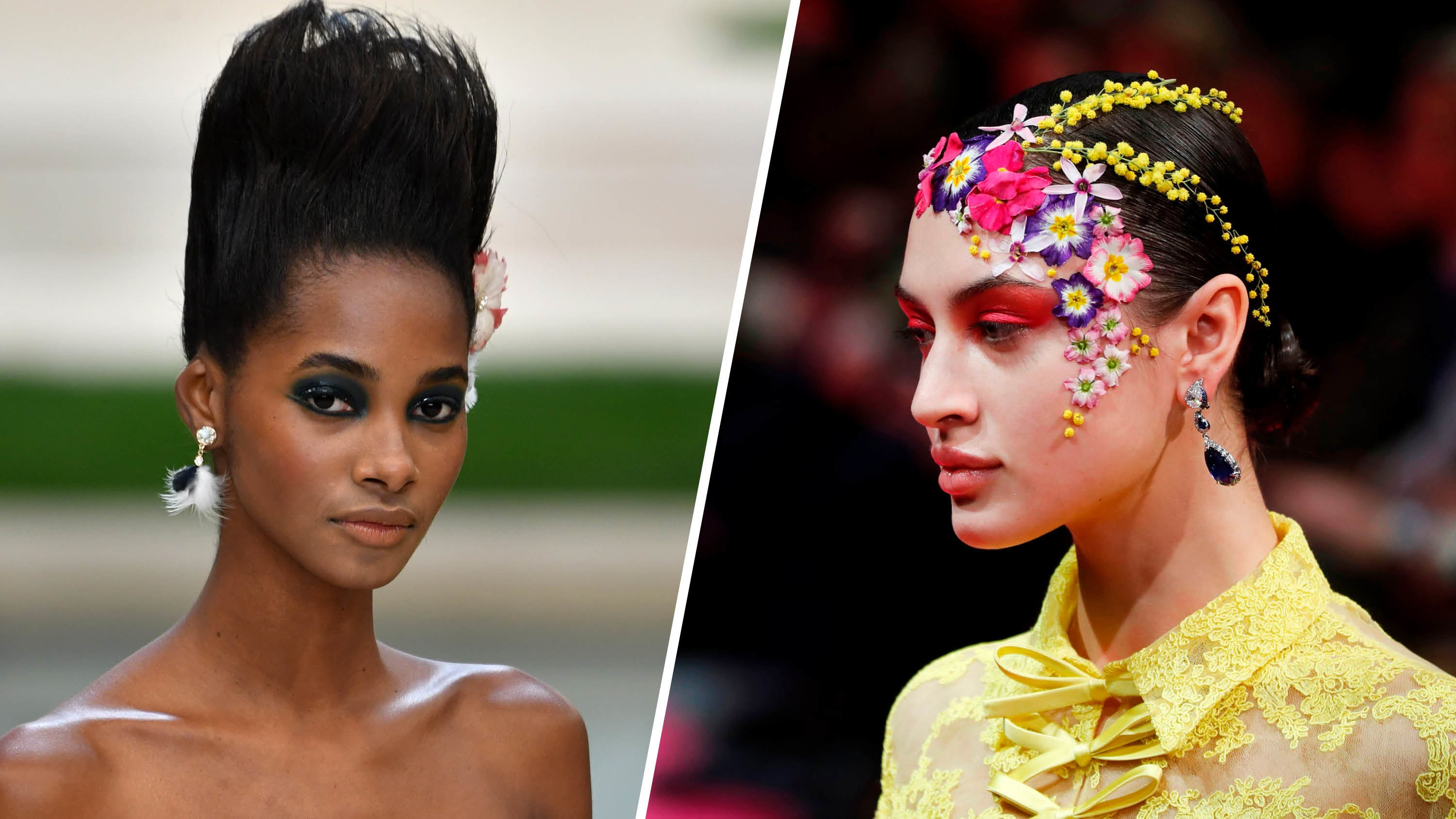 Big Hairstyles Chanel Couture Spring 2019 2019 Haircuts
